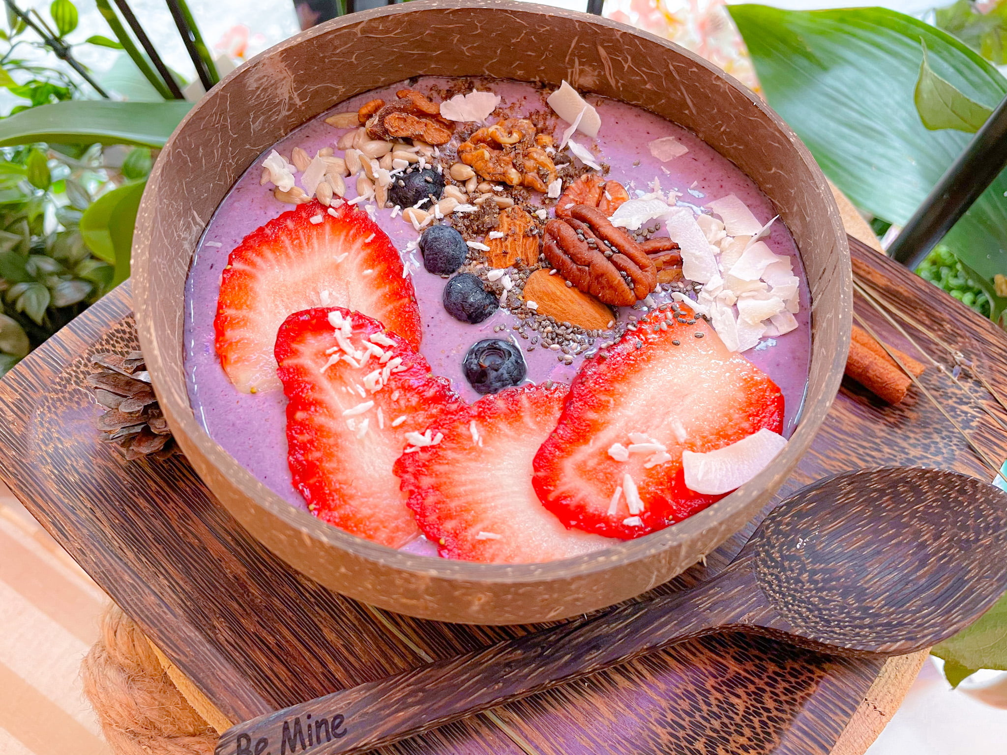 Coco Pink Smoothie Bowl