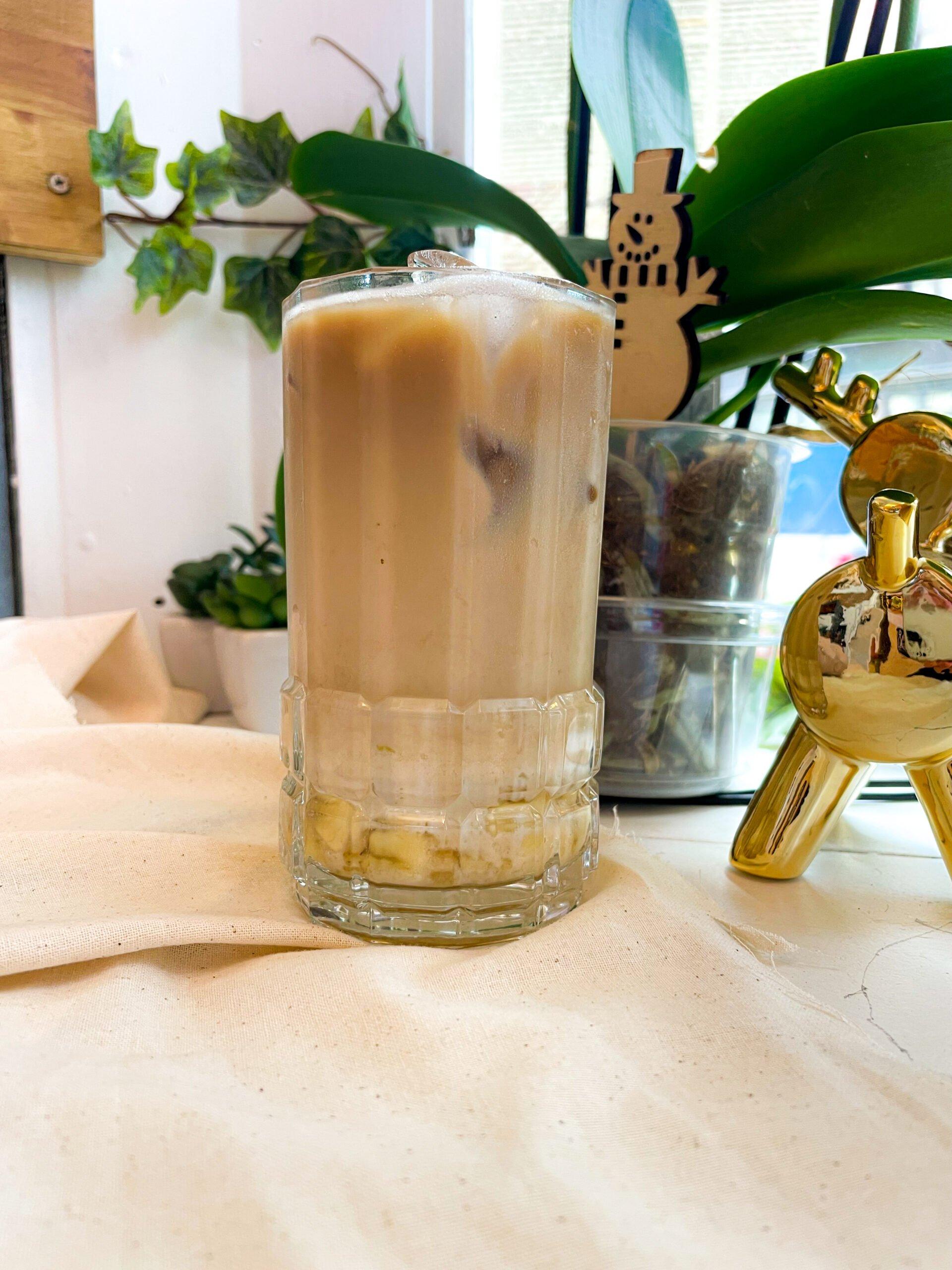 Banana Coffee Milk Latte (Cold)